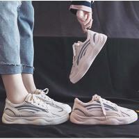 秋款网鞋女透气秋季网纱小白鞋女网面平底板鞋百搭运动单鞋潮