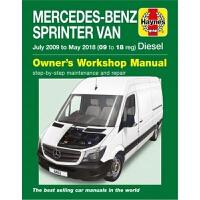 预订Mercedes-Benz Sprinter Diesel Vans July '09 to May '18 (09