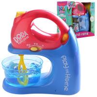 朵拉水果机搅拌机榨汁机过家家儿童女仿真厨房玩具果汁机3-6-9岁