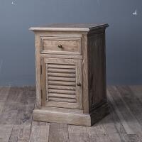法式乡村实木家具 欧式床头柜 床头桌 床头柜 边柜 立柜 整装