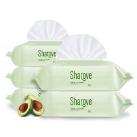 喜朗 婴儿手口湿巾80片*5包带盖 宝宝鳄梨柔棉湿纸巾