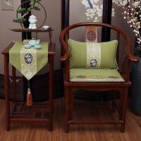 【品质推荐】太师椅靠垫中式居家红木家具沙发椅子坐垫抱枕靠垫古典实木餐椅圈椅太师椅垫定做