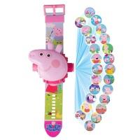 玩具手表佩琪抖音社会人手表网红儿童女孩学生投影玩具电子表