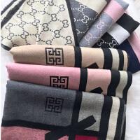 羊毛围巾韩版女百搭秋夏季夏天2019新款披肩两用双面仿羊绒大长款