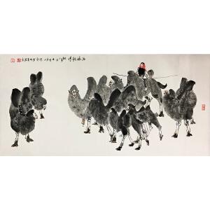 杨志印《骆驼》著名画家