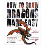 How to Draw Dragons Made Easy 画龙一点通 英文原版绘画技法