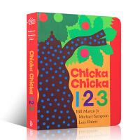 Chicka Chicka 1,2,3叽喀叽喀,一、二、三 幼儿启蒙认知 婴儿英文原版读物 Bill Martin J