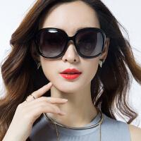 2019新款潮流大框眼睛墨镜圆脸偏光复古眼镜时尚太阳镜