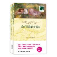 爱丽丝漫游奇境记 买中文版送英文原版 双语译林