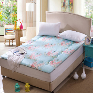 榻榻米床垫 加厚折叠单双人学生防滑软垫被褥床褥子地铺睡垫