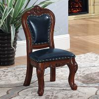 儿童凳子 靠背 欧式小椅子靠背椅沙发凳茶几小凳子圆凳换鞋凳美式实木矮凳A