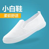 秋季新款软底深口护士鞋白色医院美容院鞋平底工作鞋女