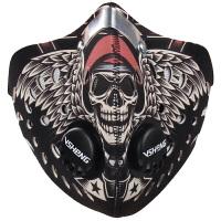 骑行口罩男防风防尘自行车装备运动跑步透气防寒面罩