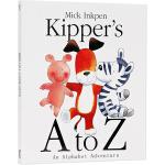 英文原版 Kipper's A to Z 小狗卡皮 奇普字母大冒险 廖彩杏书单 儿童启蒙绘本 An Alphabet