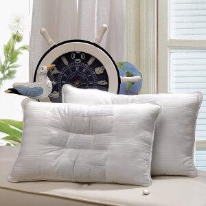 [当当自营]富安娜枕芯学生儿童舒适枕头 儿童决明子枕 白色 28*45