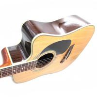 支持货到付款 Jackson 民谣吉他 吉他 木吉他 单板(面单)吉他电箱琴 电箱吉他 EQ内置调音器 韩产EQ 云衫