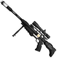 儿童宝宝电动玩具枪声光小孩男孩带音乐塑料枪2-3/5-6岁六一儿童节礼物 官方标配