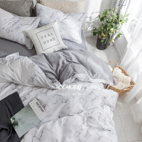 ins全棉1.5米床单被罩被套床笠四件套纯棉北欧式1.8m双人床上用品定制