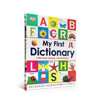 顺丰发货 My First Dictionary 幼儿启蒙认知图画词典 1000个单词,图片跟解释 精装大开本 DK学习用书