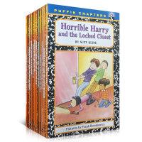 顺丰发货 Horrible Harry可怕的哈里12本套装 英文原版章节书 故事书初级桥梁书Suzy Kline经典少儿读物 这是一系列令人捧腹的校园冒险故事