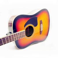 Jackson 六弦琴  民谣吉他 圆角 D型 亮漆 (两色可选:木色 & 太阳色)沙比利背侧板 (限量版)DG-15