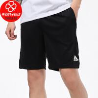 Adidas/阿迪达斯男裤新款运动裤跑步训练健身舒适透气休闲五分裤时尚短裤FK1778