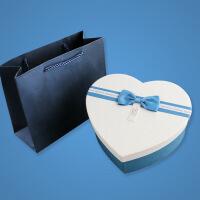 创意心形礼盒 爱心生日礼物盒 小号香水巧克力包装盒子送男友