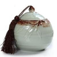 尚帝 哥窑开片裂纹茶叶罐 陶瓷密封罐子BH2014-297A