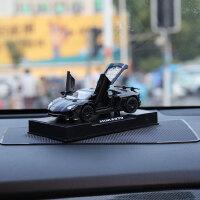 兰博基尼汽车摆件金属车模型车载内饰品创意汽车香水除异味香水座