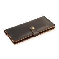 手工钱包男放手机的钱夹iphone7p手拿包女长款