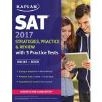 英文原版 SAT考试用书 SAT 2017 Strategies, Practice & Review with 3