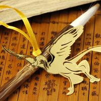 侏罗纪恐龙书签 当当自营 翼龙 黄铜材质 镂空创意高档金属书签套盒中国风 韩国书签精美卡通可爱书签 货到付款