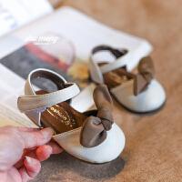 1-3岁女童夏季小公主鞋子婴儿软底学步鞋小女孩宝宝凉鞋