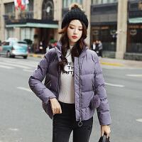 短款棉衣女2018新品时尚韩版修身加厚立领小棉袄学生外套女