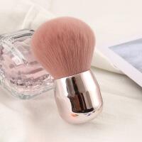大号特柔软蓬松 散粉刷 定妆刷 美妆工具化妆刷子 一支装 粉红色 其它材质