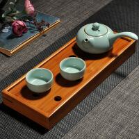 汝窑茶具套装 便捷式旅行茶具一壶 四杯陶瓷功夫茶杯家用简茶器