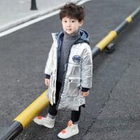 童装男童冬装棉衣2018新款中长款韩版儿童棉服宝宝冬季轻薄棉袄酷