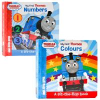 英文原版绘本My first Thomas Colours/Numbers 小火车托马斯和他的朋友们 一起来学颜色 数