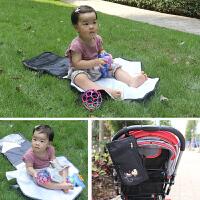 婴儿换片垫便携式尿布垫防水防漏可折叠可储物宝宝隔尿垫外出尿垫