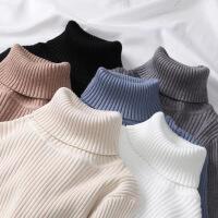 高领毛衣女修身保暖加厚长袖t恤打底衫套头内搭针织衫女装上衣