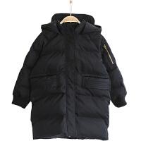 男童棉衣中�L款冬�b外套中大�和�