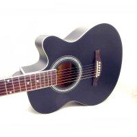支持货到付款-Vorson(两色可选 :黑色 原木色 )低调华丽 入门 初学 木吉他 40寸 民谣吉他 适合弹唱 A型