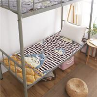 床垫1.8m床褥子1.5m双人垫被褥学生宿舍单人0.9米1.2m海绵榻榻米定制 120×200cm床(肤柔软 健康透气)
