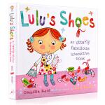 露露的鞋子 Lulu's Shoes 英文原版 精装操作翻翻书 Lulu系列幼儿启蒙认知绘本 亲子互动 习惯养成 故事