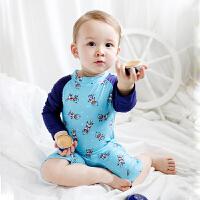 1-2-3-4-5-8岁男童女孩婴儿幼儿连体小宝宝游泳衣2019新款儿童泳衣