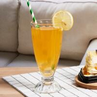 家用珍珠奶茶杯子酒店用玻璃杯子创意大号冷饮果汁杯欧式奶昔杯