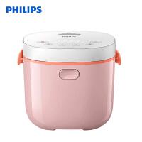 飞利浦(PHILIPS)电饭煲 家用2L迷你智能可预约触摸控制可做酸奶粉色 HD3070/00