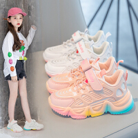 女童鞋运动鞋秋季秋冬男童鞋子春秋女孩儿童老爹鞋