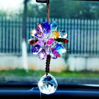 韩国汽车挂件车内饰品摆件车载女士挂饰车上后视镜水晶吊饰吊坠送女友