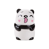 卡通陶瓷调料瓶烧烤调味罐 多功能牙签罐厨房调味瓶调料罐